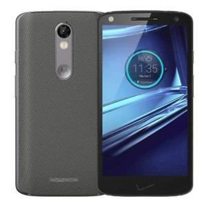 Motorola Droid Turbo 2 - 32GB - Black / Gray - VZW/GSM Unlocked - Smartphone