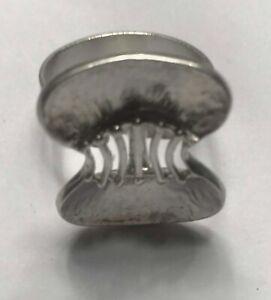 Modernist Silver 835 Ring Adjustable