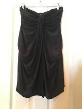 NWT The Jetset Diaries Serenity Mini Dress Black Strapless Size XS