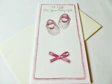 Money/Gift Card/Voucher Wallet Greetings Card......A Gift For Your Baby Girl