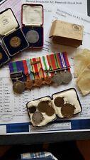 Inter War G.S.M (Iraq & N.W Persia) & WW2 Medal Group, Royal Irish Fusiliers