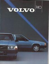 Volvo 740 Sedan Estate • 1987 • Brochure Prospekt • Dutch • EXCELLENT