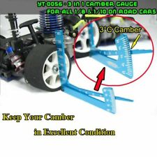 1/8 1/10 RC Car 3 in 1 Set Up Tool Chassis Suspension Height Wheel Camber Gauge