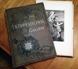 Collection of 50 GEORGE BARRIE orig.vintage prints w/original portfolio binder