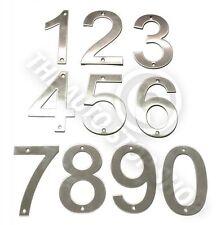 Acero Inoxidable Números Casa -No 334 - tornillo en / puerta / edificio 10cm