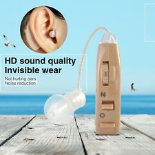 Mini BTE Ear Aid Sound Amplifier For Elderly Hearing Loss Device Noise Reduction