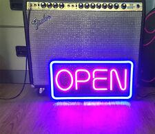 LEDOK LED Neon Sign Indoor Decoration Light Gift Store Window OPEN Sign #3