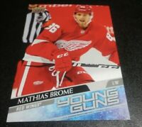 2020-21 Upper Deck Hockey Series 2 Young Guns Mathias Brome #468 Oversized Jumbo