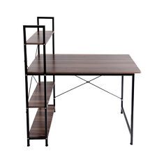 Computer Office Desk PC Laptop Table Sideboard Study Workstation Bookcase Shelf
