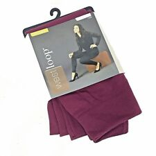 West Loop Womans Leggings Small Medium Pant Size 4-8 Cranberry Red Solid