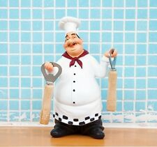 Home Decor Kitchen Bar Restaurant Ornament Figure Statue Chef Beer Bottle Opener
