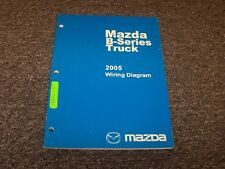 2005 Mazda B4000 B3000 B2300 B-Series Truck Electrical Wiring Diagram Manual