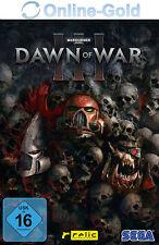 Warhammer 40,000: Dawn of War 3 III - STEAM Download Code - PC Game Key DE EU
