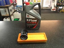 SERVICE KIT FIAT GRANDE PUNTO (199) OIL & AIR FILTERS 5 LITRES COMMA OIL XFLOW