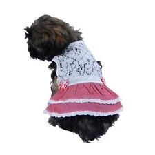 Robe rose pour chien