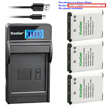 Kastar Battery LCD Charger for Nikon EN-EL19 & Nikon Coolpix S2500 Coolpix S2550