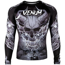 VENUM MINOTAURUS LONG SLEEVE RASHGUARD - GREY - SMALL