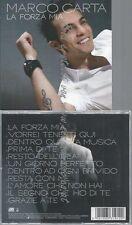 CD--MARCO CARTA--LA FORZA MIA