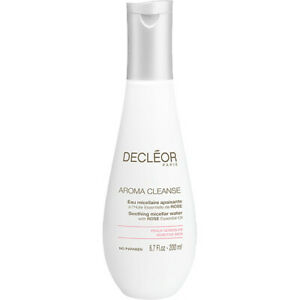 DECLEOR AROMA CLEANSE Soothing Micellar Water with Rose Oil 200ml Sensitive Skin