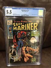 "Sub-Mariner #22 (1970) CGC 5.5  Thomas - Severin  ""Dr. Strange""  APPEARANCE"