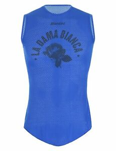 UCI Collection La Dama Bianca Men's Cycling Base Layer-Made in Italy-by Santini
