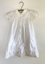 Cornelloki Girls Chrissee Petticoat Short Sleeve Dress April Cornell Sz 2 white