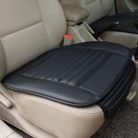 Universal Auto Sitzauflage Sitzbezüge Sitzmatte Sitzkissen PU Leder Bambus Kohle