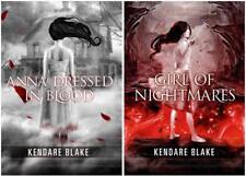 Junge Erwachsene drei dunkle Kronen Serie von kendare Blake Taschenbuch Sammlung 1-2