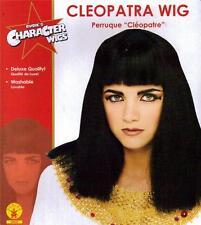 CLEOPATRA NEFERTITI Egyptian Queen Womens HAIR WIG COSTUME HEADGEAR New