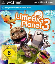 LittleBigPlanet 3 (Sony PlayStation 3, 2014, DVD-Box)