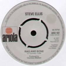 "[LOVE AFFAIR] STEVE ELLIS~RAG AND BONE / SAVE ALL THE ENCORES~1977 UK 7"" SINGLE"