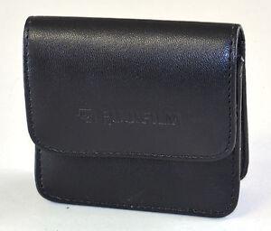 Fujifilm FinePix  F440/F450 Super Mini Compact Camera Case PU Leather Belt Loop