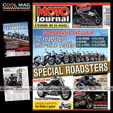 MOTO JOURNAL N°1873 APRILIA SL 750 SHIVER DUCATI 696 MONSTER KAWASAKI Z 750 2009