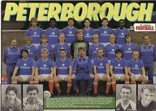 PETERBOROUGH UNITED FOOTBALL TEAM PHOTO>1988-89 SEASON