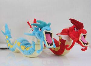 "Center Plush Toy Gyarados Blue Red Stuffed Animal Doll Shiny 23"""