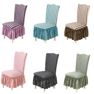 Stretch Dining Chair Covers Slipcover Protective Cover Home Hotel Wedding Party