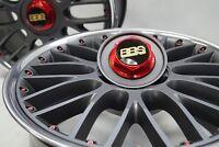 76x Felgenschrauben BBS RS Speedline 18 Zoll M7x24 mm RS RK RX Schwarz Schrauben