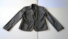 APOSTROPHE Size: 8 Women's Gray Jacket Blazer Polyester/Rayon/Spandex