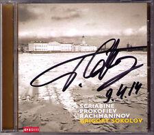 Grigory SOKOLOV Signiert SCRIABIN PROKOFIEV RACHMANINOV Piano Sonata Prelude CD