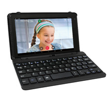 "2 in 1 Laptop Tablet PC 7"" Small Android Touchscreen w Keyboard Case 16G RCA NEW"