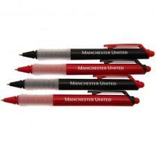 Manchester United FC Official Four Pack Pen Set Present Gift 4pk Pen Set