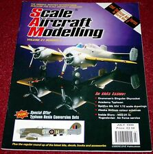 Scale Aircraft Modelling 21.5 2nd Tactical Air Force,Typhoon,Spitfire,XF5F-1