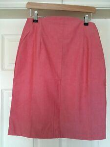 Alexandra PE28 Woman's pink knee length skirt size UK 12-14