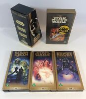 Star Wars Trilogy Special Edition 1997 VHS Boxed Set + Phantom Menace - Job Lot