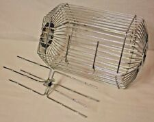 Farberware Open Hearth Rotisserie Replacement Roasting Meat Basket Cage + Fork
