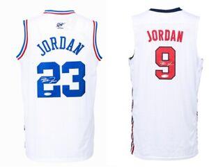 "Bulls Legend #23, #9 ""GOAT"" Autographed ""2 Jerseys"" Collection COA, Certified"