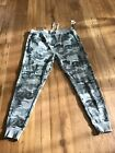 Men's winchester jogger sweat pants size XL gray camo