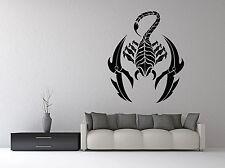 Wall Room Decor Art Vinyl Sticker Mural Decal Zodiac Signs Scorpio VY433