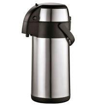 5L Edelstahl Pumpkanne Isolierkanne Thermoskanne Isolierkanne Kaffeekanne 5 L