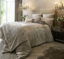 Kylie Minogue Savoy Blush King Duvet Cover Designer Damask Quilt Bedding Cover